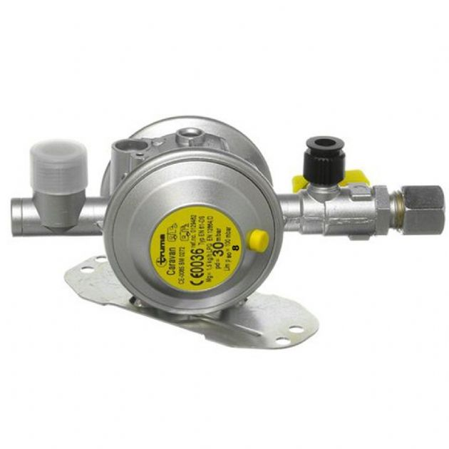 Truma Euro Gas Regulator, Gas equipment for Campervan, Caravan & Motorhome, gas connectors, gas accessories - Grasshopper Leisure
